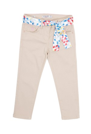 U.S. Polo Assn. Kız Çocuk Dokuma Spor Pantolon Fancy6S