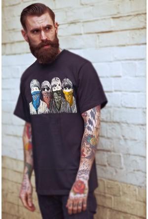 The Chalcedon Beatles Erkek T-Shirt Printed