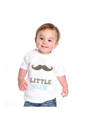 BuldumBuldum Küçük Adam Bebek T-Shirt - Siyah 1-2 Yaş