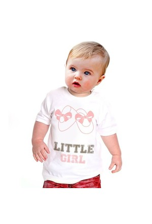 BuldumBuldum Küçük Hanım Bebek T-Shirt - Siyah 1-2 Yaş