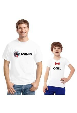 BuldumBuldum Baba Çocuk T-Shirt - Babasının Oğlu
