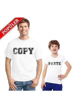 BuldumBuldum Baba Çocuk T-Shirt - Copy Paste