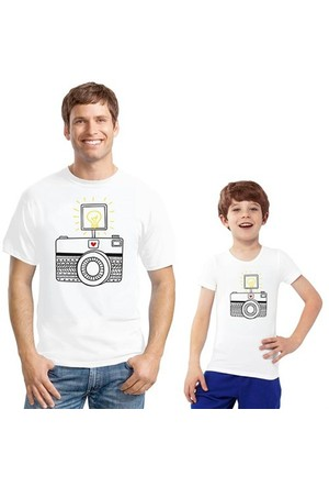 BuldumBuldum Baba Çocuk T-Shirt - Kamera