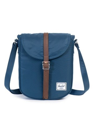 Herschel Çanta Kingsgate Select Navy/Saddle Leather