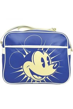 Half Moon Bay Mickey Mouse Mavi Postacı Çanta