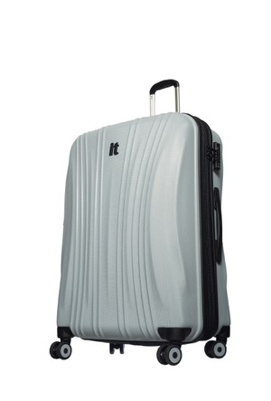 It Luggage Polycarbonate Orta Boy Çanta Gri M-(70*47*32)