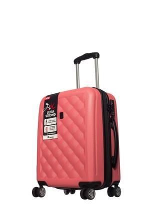 It Luggage Polycarbonate Kabin Boy Çanta Pembe S-(55*40*22)