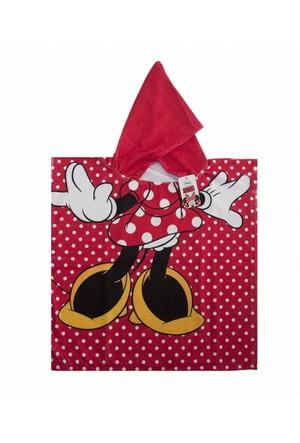 Minnie Mouse Plaj Pançosu - Minnie Mouse Plaj Havlusu