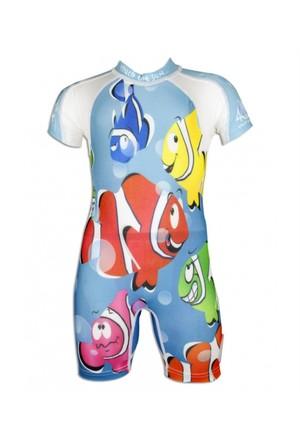 4bb2 / uvea Palyaço Balıklar Yüzme Kıyafeti
