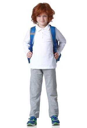 Zeyland Erkek Çocuk Beyaz Polo T-Shirt - K-61KL3764