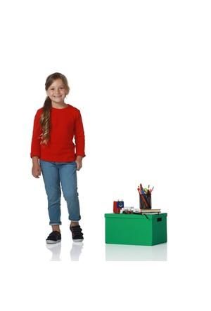 Zeyland Kız Çocuk Kırmızı Bluz K-62Kl4664