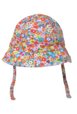 Tuc Tuc Çiçek Desenli Şapka Mon Jardin