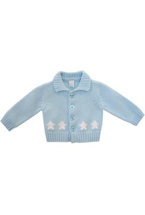 Tuc Tuc Düğmeli Yıldızlı Hırka Baby Star