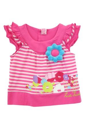 Tuc Tuc Çiçek Aplikeli T-Shirt Sunny Days