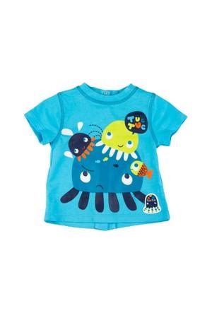 Tuc Tuc Baskılı Aplikeli T-Shirt Jellyfish