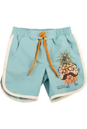 Tuc Tuc Erkek Çocuk Şort Mayo Pineapple