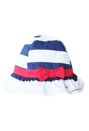 Tuc Tuc Çizgili Şapka Navy Girl