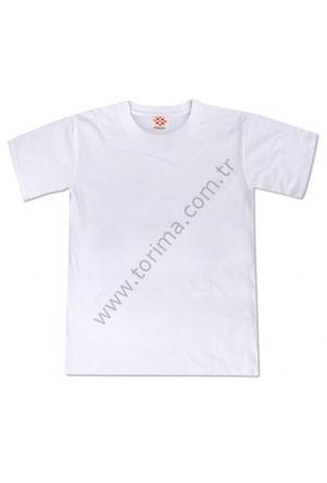 Sublimasyon Sıfır Yaka Çocuk T-Shirt 8 Yaş