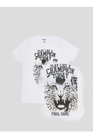 LC Waikiki Erkek Renk Değiştiren T-Shirt