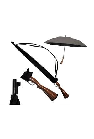 Toptancı Kapında Tüfek Şemsiye - Rifle Umbrella