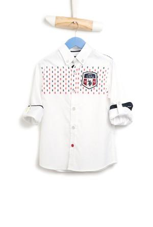U.S. Polo Assn. Ryanimakids Erkek Çocuk Gömlek