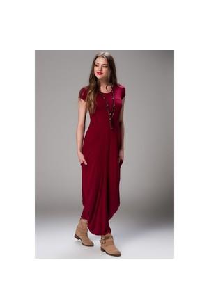 Daisy Kısa Kollu Saklı Cepli Şalvar Elbise