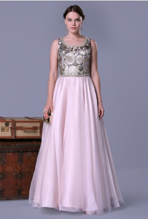 Pierre Cardin Brokar Prenses Elbise