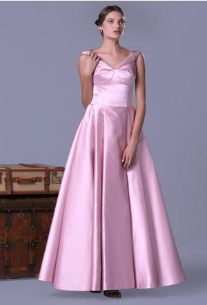 Pierre Cardin Prenses Saten Elbise