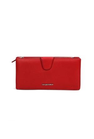 Cengiz Pakel Bayan Cüzdan-65123 Kırmızı