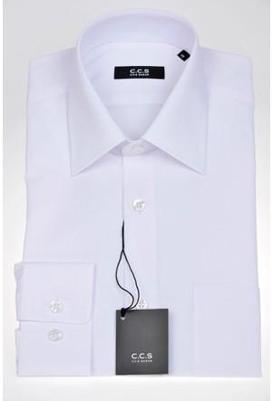 Sarar Ccs Sarar Klasik Kesim Beyaz Gömlek Gömlek