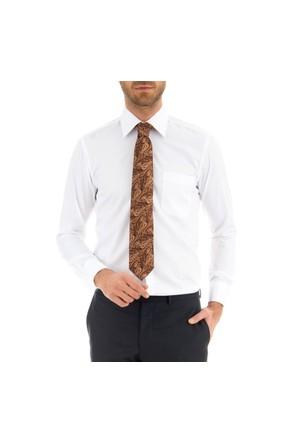 Sarar Ccs Sarar Cepli Klasik Kesim Beyaz Gömlek Gömlek
