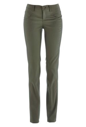 Bpc Bonprix Collection Yeşil Streç Model Pantolon
