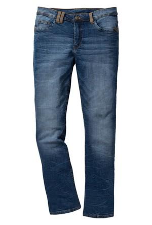 John Baner Jeanswear Mavi Streç Jean Pantolon Regular Fit Bootcut