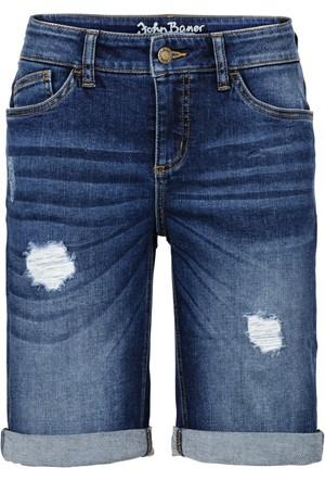 John Baner Jeanswear Mavi Jean Bermuda Normal