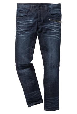 Rainbow Mavi Jean Regular Fit Tapared İnç Uzunluğu 32