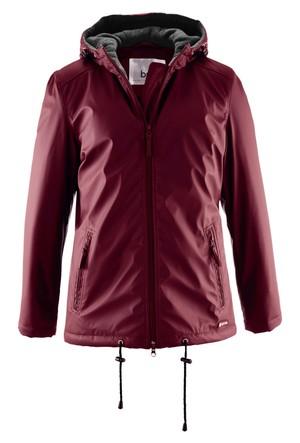 Bpc Bonprix Collection - Kırmızı Hafif Dolgulu Uzun Ceket