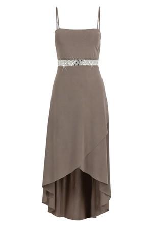 Bodyflirt Kahverengi Elbise