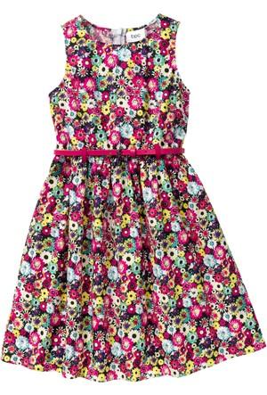 Bpc Bonprix Collection Pembe Kemerli Elbise