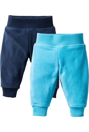 Bpc Bonprix Collection - Mavi Bebek Polar Pantolon (2Li Pakette)