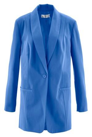 Bpc Bonprix Collection - Mavi Düğme Detay Blazer