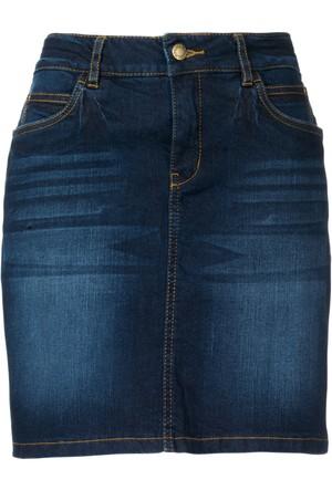 John Baner Jeanswear Mavi Streç Jean Etek Modeli Normal