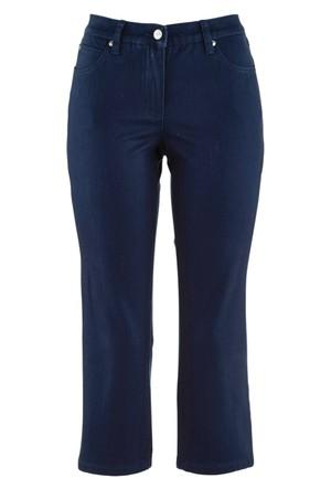 Bpc Bonprix Collection Mavi Diz Altı Streç Pantolon