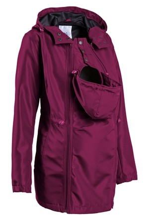 Bpc Bonprix Collection - Lila Hamile Giyim Bebek Korumalı Softshell Ceket