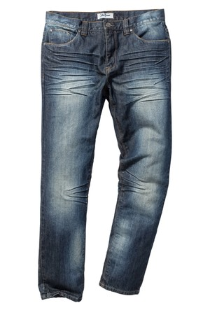 John Baner Jeanswear Siyah Jean Regular Fit Tapared