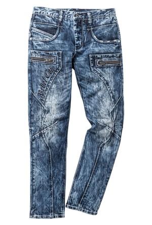 Rainbow Mavi Jean Regular Fit Straight İnç Uzunluğu 34