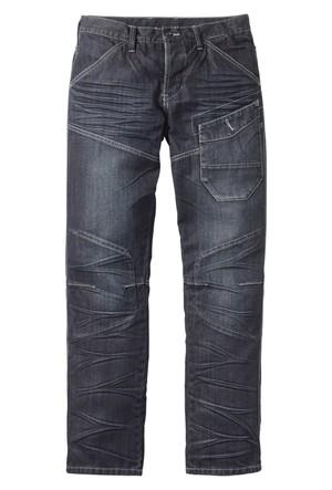 Rainbow Siyah Regular Fit Straight Jean 32