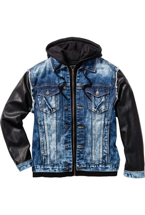 Rainbow Mavi Jean Ceket Regular Fit