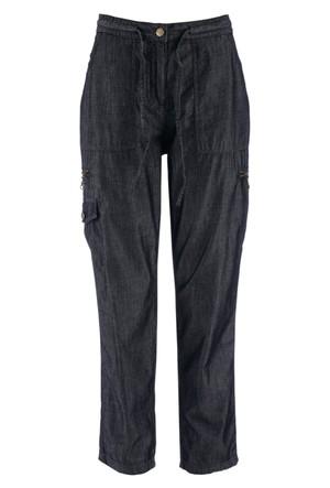 Bpc Bonprix Collection Siyah 7/8 Paça Kargo Pantolon