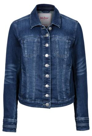 John Baner Jeanswear Mavi Sweat Kalite Jean Ceket