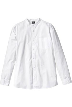 Bpc Bonprix Collection - Beyaz Uzun Kollu Gömlek Regular Fit
